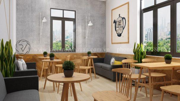 Thiết kế quán trà sữa Charm Cha tại Trâu Quỳ – Gia Lâm