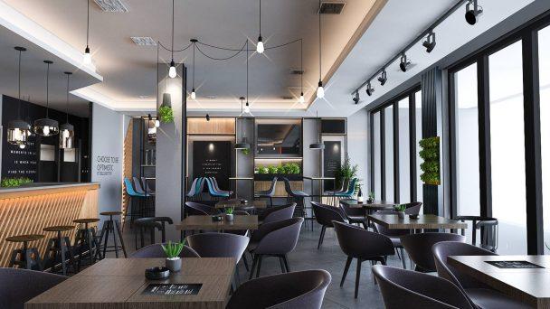 Bí quyết thiết kế quán ăn sáng đơn giản mà khách vẫn thích mê