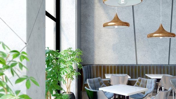 Cách trang trí quán cafe trong nhà không bao giờ lỗi mốt