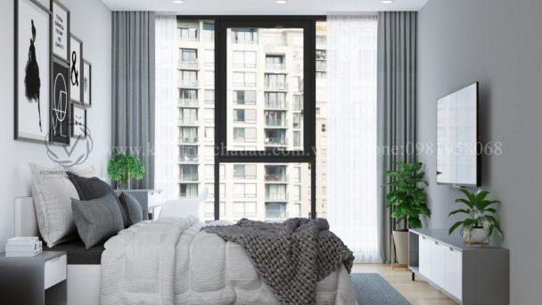 Thiết kế nội thất chung cư giá rẻ với phong cách tối giản