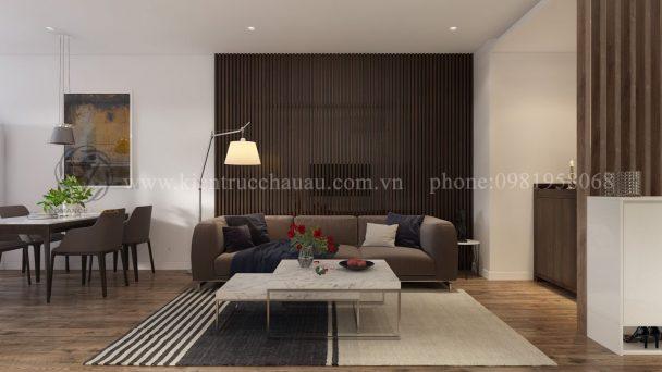 Độc đáo với mẫu nội thất chung cư phong cách hiện đại