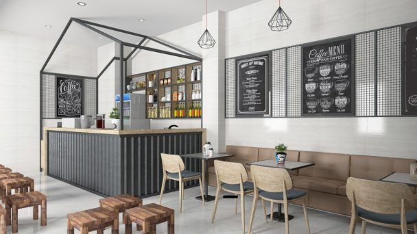 Đừng bỏ qua mẫu thiết kế quán café nhỏ xinh hút mắt này!