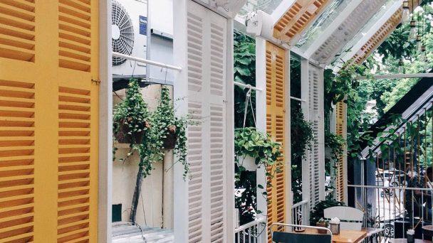 Khám phá thiết kế quán café nhỏ xinh giữa lòng thành phố