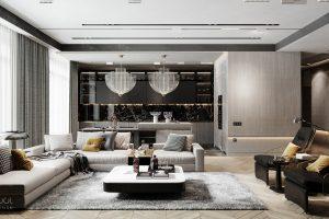Một số gợi ý cho thiết kế nội thất chung cư luôn sang trọng