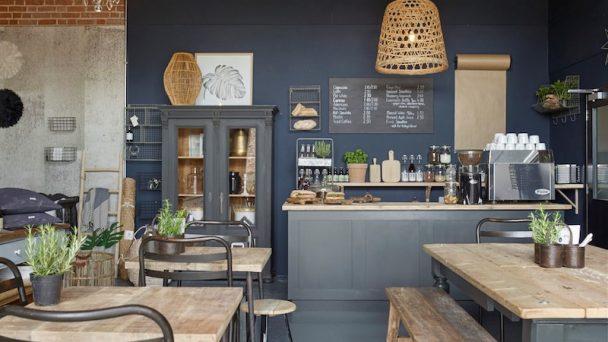Thiết kế nội thất quán café phong cách Vintage đẹp hút hồn