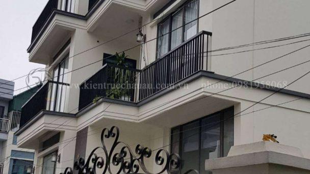 Romance Villa thi công kiến trúc biệt thự song lập Vinhomes Riverside