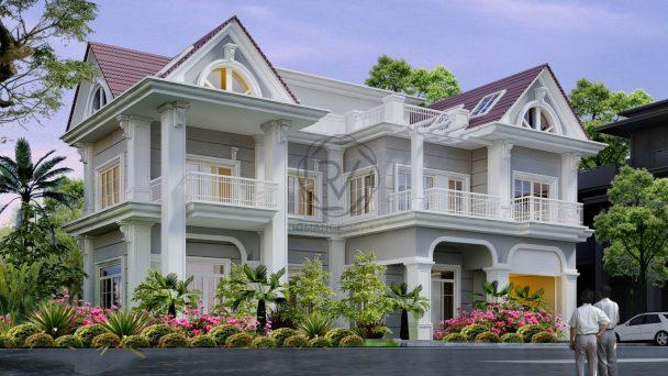 Thiết kế biệt thự Vinhomes – không gian sống đẳng cấp nhất