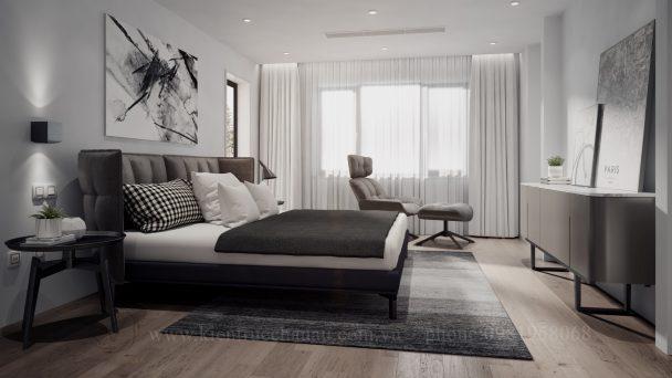 Thiết kế chung cư 65m2 thoáng sáng và tối ưu công năng