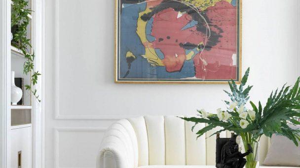 Thiết kế chung cư 65m2 nổi bật với gam màu trắng