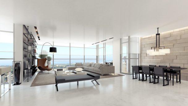 Thiết kế chung cư 90m2 cực đẹp với phong cách tối giản