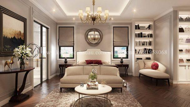 Thiết kế chung cư Mỹ Đình Pearl phong cách tân cổ điển