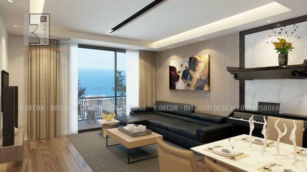 Thiết kế nội thất chung cư Park Hill 85m2 đẹp hiện đại – Chị Ánh