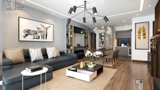 Thiết kế chung cư Park Hill ấn tượng với phong cách hiện đại