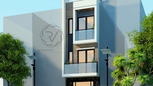 Ấn tượng với mẫu thiết kế nhà phố hiện đại tại Bắc Giang