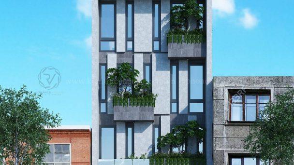 Thiết kế kiến trúc biệt thự hiện đại tại Sóc Sơn – Cô Lâm