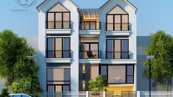 Tinh tế với mẫu thiết kế kiến trúc nhà phố hiện đại tại Hà Nội
