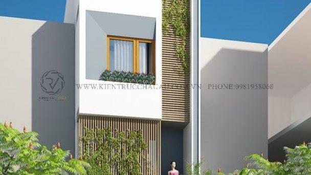 Thiết kế kiến trúc nhà phố hiện đại tại Vĩnh Phúc – chú Thắng