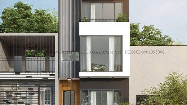 Nổi bật với thiết kế kiến trúc nhà phố hiện đại tại Sóc Sơn