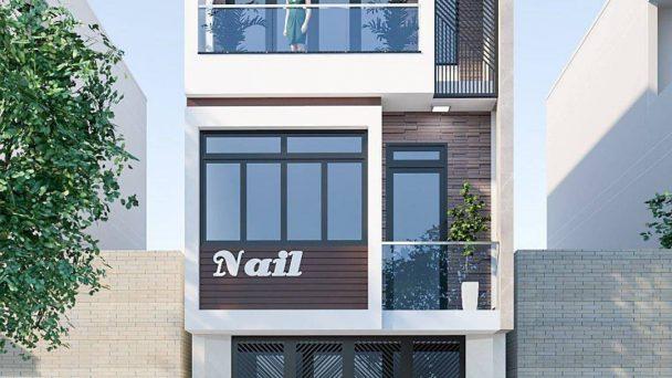 Thiết kế nhà phố kinh doanh đẹp phong cách hiện đại