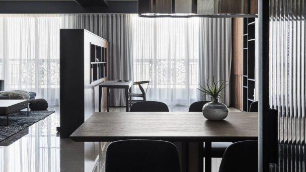 Thiết kế nội thất chung cư 65m2 thoáng đãng với phong cách tối giản