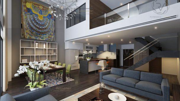 Thiết kế nội thất chung cư Mandarin Duplex tối ưu nhất – Anh Hà