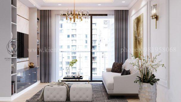 Thiết kế nội thất chung cư Park Hill phong cách Châu Âu