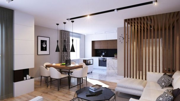 Thiết kế nội thất chung cư Season Avenue diện tích 115m2