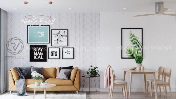 Thiết kế nội thất chung cư diện tích nhỏ tại Văn Phú Hà Đông