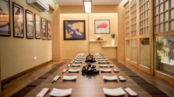 Thiết kế nội thất nhà hàng phong cách zen thư thái và an yên