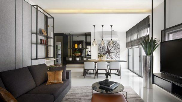 Thiết kế nội thất nhà ống hiện đại đẹp từng centimet