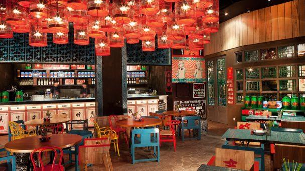 Thiết kế nội thất quán cafe phong cách Trung Hoa đầy ấn tượng