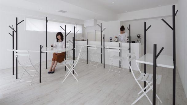 Thiết kế quán cafe đơn giản nhẹ nhàng mà tinh tế cực hút khách