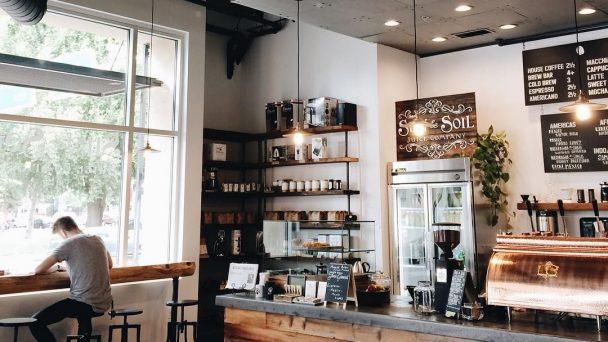 Thiết kế quán cafe phong cách công nghiệp cho thực khách cá tính