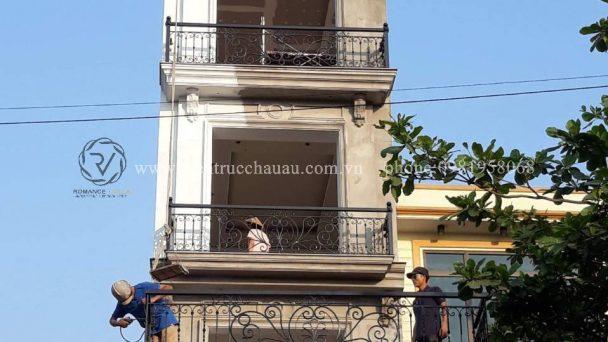 Thiết kế thi công nhà phố phong cách tân cổ điển tại Hà Nội