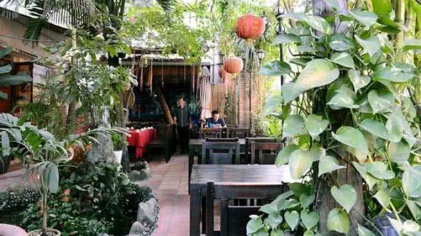 Trang trí nhà hàng sân vườn đẹp lôi cuốn mọi thực khách