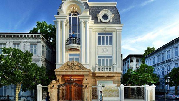 Tư vấn thiết kế kiến trúc biệt thự tân cổ điển tại Hà Nam