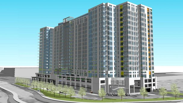 Tư vấn thiết kế kiến trúc nhà cao tầng hiện đại tại Hà Nội