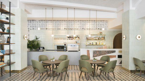 Tư vấn thiết kế quán café 2 tầng thoáng đẹp giữa lòng Hà Nội