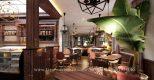 Tư vấn thiết kế quán cafe phong cách Châu Âu cổ điển đẹp